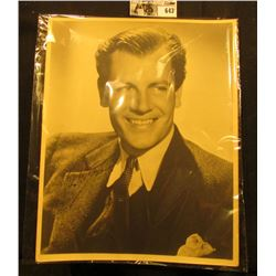 "8"" x 10"" Autographed Photograph JOEL McCREA. ""Joel McCrea"". B/W. Joel McCrea (1905-1990), who was a"