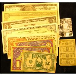 "Series 1993B $1.00 U.S. Department Food Coupon Star Number ""*00071280"", Series 1993B $1.00 U.S. Depa"