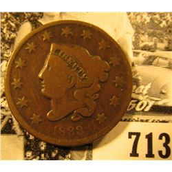 1833 U.S. Large Cent, Good.