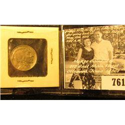 1935 P Buffalo Nickel, EF.
