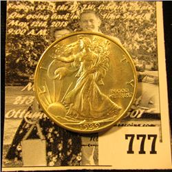 "1939 S U.S. Walking Liberty Half Dollar, Brilliant Uncirculated. Ex ""Catich Estate/Dean Oakes/Numism"