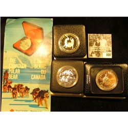 1875-1975 Calgary Canada, 1980 Polar Bear Canada, & 1988 250th Anniversary of the Saint-Maurice Iron