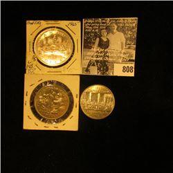1965 Canada Silver Dollar; 1870-1970 Manitoba, & 1867-1982 Confederation Constitution Canada nickel