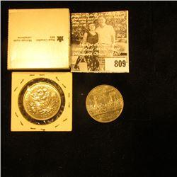 """1886-1986 Vancouver """"Train"""" Canada Silver Dollar; 1870-1970 Manitoba, & 1867-1982 Confederation Cons"""