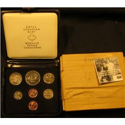 1978 Royal Canadian Mint Double Cent Set in original box of issue with literature.