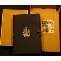 1977 Throne of the Senate Canada Double Dollar Double Struck Canada Coin Set in original holder of i