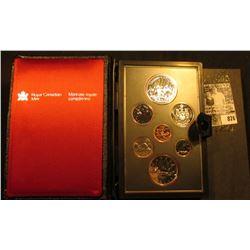 1980 Polar Bear Canada Double Dollar Double Struck Canada Coin Set in original holder of issue. Incl