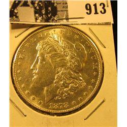 1878 S U.S. Morgan Silver Dollar, BU.
