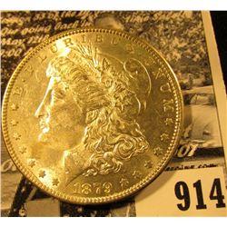 1879 P U.S. Morgan Silver Dollar, Unc.