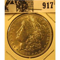 1886 P U.S. Morgan Silver Dollar, Unc.