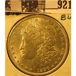 1896 P U.S. Morgan Silver Dollar, Unc.