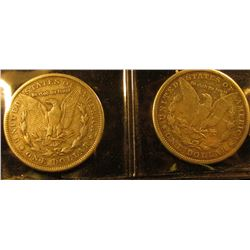 1885 O U.S. Morgan Silver Dollar, Unc.