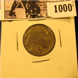 1000 . 1931 S Buffalo Nickel, VF.