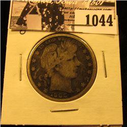 1044 . 1900 O U.S. Barber Half Dollar, Fine.