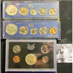 1106 . (2) 1966 Special Mint Sets & 1968 Proof Set.