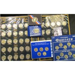 1123 . The Fifty States Quarter Dollar Collection (32 coins);  First State Quarters Of The United St
