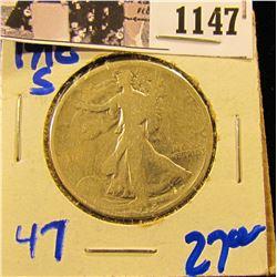 1147 . 1918-S Walking Liberty Half Dollar