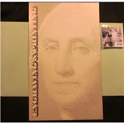 1155 . Uncut sheet of two dollar star notes series of 1976