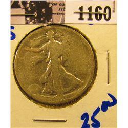 1160 . 1920-S Walking Liberty Half Dollar