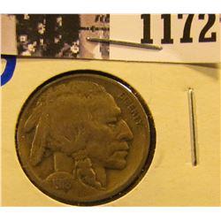 1172 . 1918-D Semi Key Date Buffalo Nickel