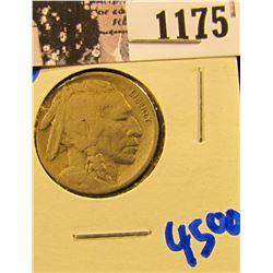 1175 . 1916-D Semi Key Date Buffalo Nickel
