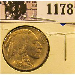 1178 . 1913 P Type 1 Buffalo Nickel High Grade