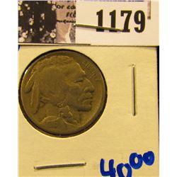 1179 . 1916-S Semi Key Date Buffalo Nickel