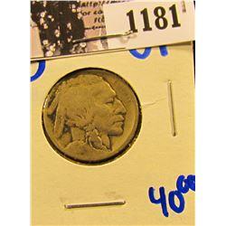 1181 . 1914-S Buffalo Nickel