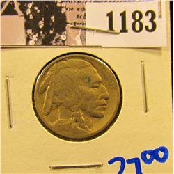 1183 . 1913 P Type 2 Buffalo Nickel
