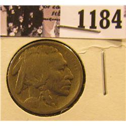 1184 . 1913-D Type 1 Buffalo Nickel