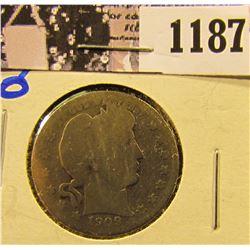 1187 . 1909-O Barber Quarter
