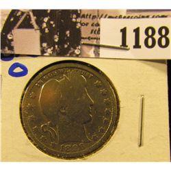 1188 . 1896-O Barber Quarter
