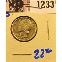 1233 . 1930-S Mercury Dime