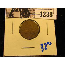 1238 . 1857 Flying Eagle Penny