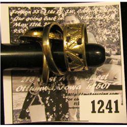 1241 . (3) Sterling Silver Designer Rings