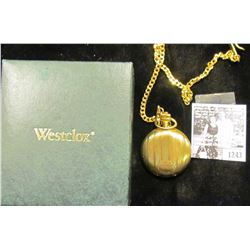 1243 . Westclock Pocket Watch With Box