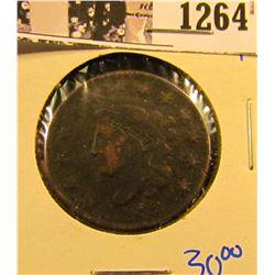 1264 . 1832 Coronet Head Large Cent