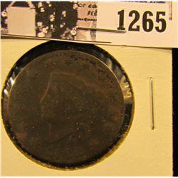 1265 . 1822 Coronet Head Large Cent