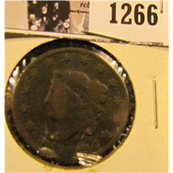 1266 . 1829 Coronet Head Large Cent