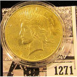 1271 . 1923 P Encapsulated Peace Dollar