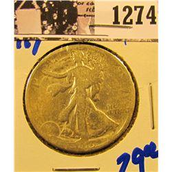 1274 . 1919 P Walking Liberty Half Dollar