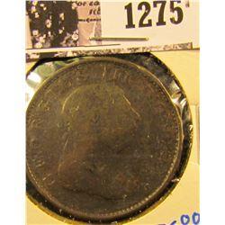 1275 . 1805 British Half Penny
