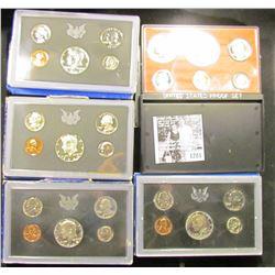 1281 . 1968 S, 1969 S, 1970 S, 1971 S, & 1978 S Proof Sets