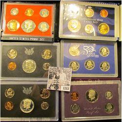 1283 . 1968 S, 1970 S, 2005 S, 1982 S, 1984 S Proof Sets