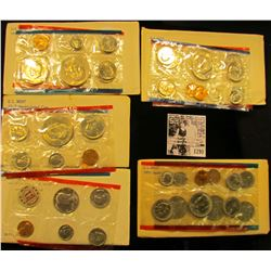 1290 . 1971, 1977, 1978, 1979, & 1981 U.S. Mint Sets