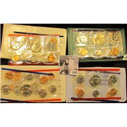 1297 . 1988, 92, 93, & 98 U.S. Mint Sets.