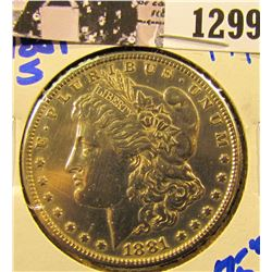 1299 . 1881-S Morgan Dollar