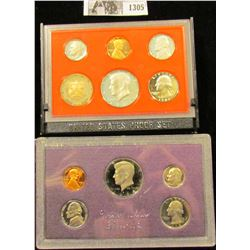 1305 . 1982 S & 84 S U.S. Proof Sets. Original as issued.