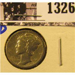 1326 . 1921-D Key Date Mercury Dime