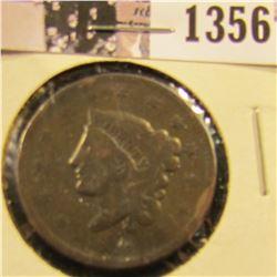 1356 . 1836 Coronet Head Large Cent